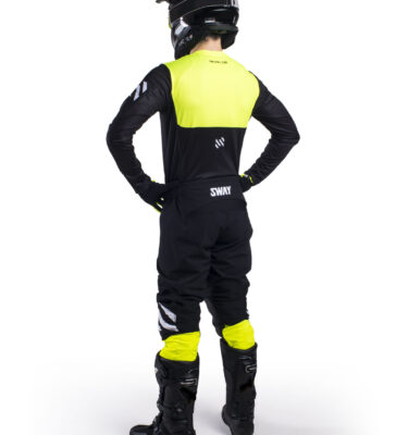 Sway MX SX0 Gear Set - Black and Yellow