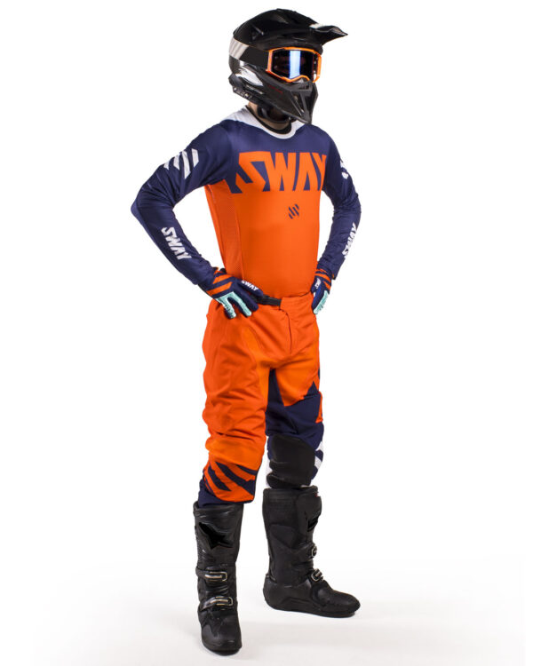 Sway MX SX0 KTM Gear Set - Orange and Blue