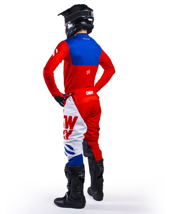 Sway MX SX0 Gear Set Honda - Red and Blue